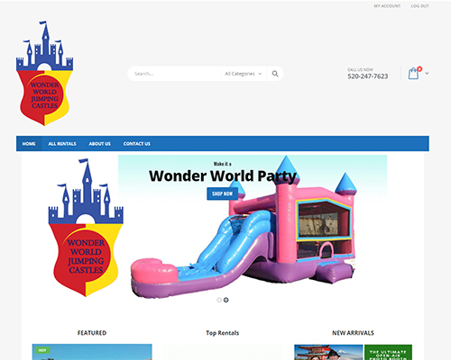 Wonder World Jumping Castles